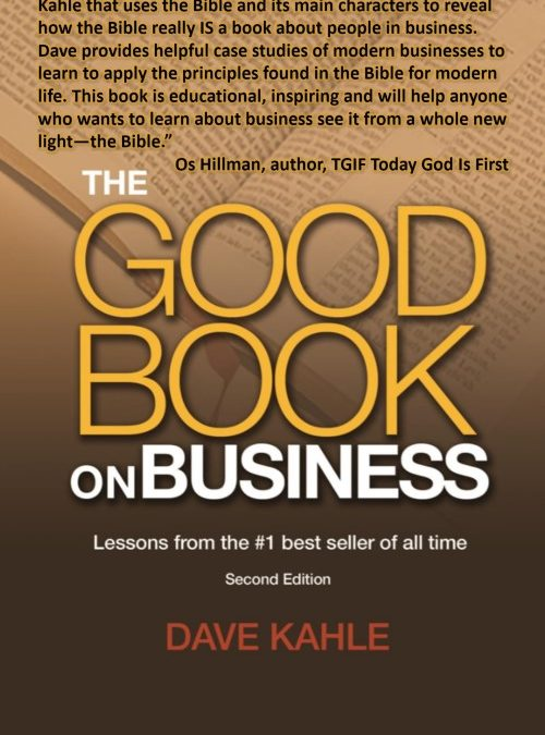 Book Review:  The Good Book on Business by Business as Mission, International