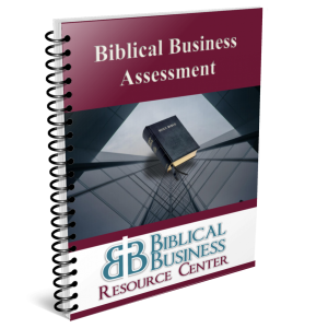 Cover Biblical Business Assessment Book Small