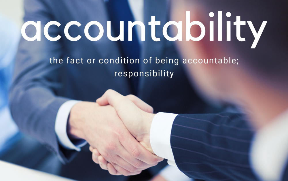 Accountability in Personal Development